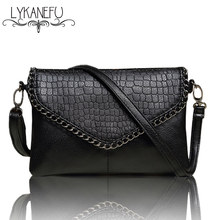 LYKANEFU Casual Small Bag for Women Messenger Bags for Women Shoulder Bags Crossbody Black Clutch Purse and Handbag Dollar Price(China)