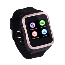 new arrivals touch screen android5.1 mobile phone smart watch with camera wifi 3G gps support facebook twitter google map