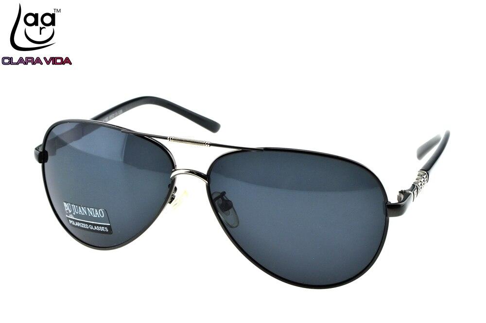 = CLARA VIDA= Custom Made NEARSIGHTED MINUS PRESCRIPTION Cool Mens Pilot Specially designed Bridge Polarized sunglasses -1 to -6<br><br>Aliexpress