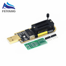 1pcs CH341A 24 25 Series EEPROM Flash BIOS USB Programmer with Software & Driver(China)