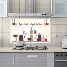 Enjoy Life Restaurant Kitchen Wall Sticker Table Back Ground Removable Wall Stickers Decoration Poster Wall Paper