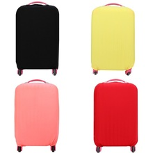 2017 travel accessories luggage cover trolley cover suitcase protector case cover dust-proof 3 sizes candy color elasticity new