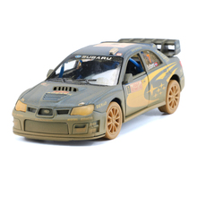 KINSMART Diecast Toy Vehicles Kids Toys, 1:36 Simulation Clay Edition Racing Cars Toys / Brinquedos, 12.5cm Pull Back Car Models(China)