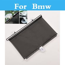 Car Side Rear Window Mesh Car Cover Visor Shield Sunshade UV Protection for Bmw 1 3 5 7 Series E36 E46 E60 E70 E40 E90 F30 F10(China)