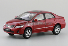 Red Toyota New Corolla 2012 Alloy Model Diecast Show Car Replica 1:18 Collectable Diecast Slot Cars Original Factory