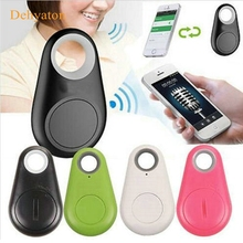Dehyaton Mini smart bluetooth tracker Child Bag Wallet Key Finder GPS Locator Alarm Wireless tracer Anti Lost reminder for pet(China)