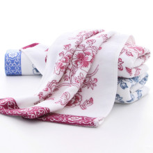 100% Cotton 75*35cm Flower Thick Bath Beach Towel Creative Drying Washcloth Baby Shower Towel 6D