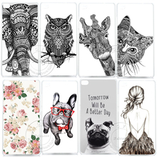 Aztec Elephant Giraffe Cat Animal Glasses Pug Hard Plastic Case Cover For Huawei Ascend P6 P7 P8 P9 Lite Mini P10 Plus 2017