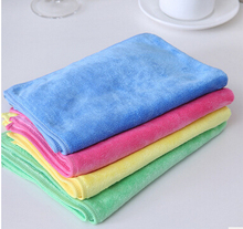 Direct Manufacturer Multifunction Super Absorbent Lint Free 30*40cm Soft Cleaning  Cloth Kitchen Towel