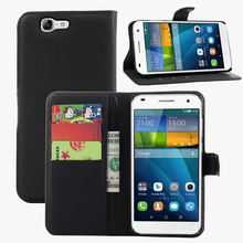 BrankBass PU Leather Moblie phone cover wallet flip Case For Huawei ascend G7 case