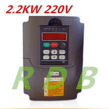 NEW HY 2.2KW 220V AC Frequency Inverter 400HZ VFD VARIABLE FREQUENCY DRIVE WITH Potentiometer Knob AC Inverter