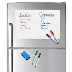 Магнитная белая доска для записей на холодильник, размер A5
