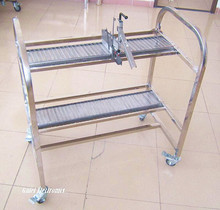 SMT Feeder Storage Cart XP model L1060*W600*H1100 for FUJI Pick and Place Machine(China)