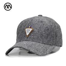 High popularity leather badge man snapback baseball cap cotton lady bone hat sport leisure hockey dad hat truck driver gorras