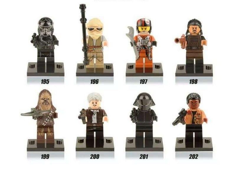 Star Wars 7 The Force Awakens Minifigures Building Blocks Kylo Ren Han Solo Rey Finn Figure Baby Toys Compatible <br><br>Aliexpress