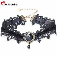 Buy Morease Sexy Necklace Rhinestone BDSM Bondage Collar Bound Slave Restraints Girl Women Cosplay Fetsih Erotic Wear Sex Toy
