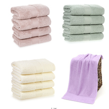 4pcs/set Cotton Soft Fast Absorbant Washing Towel Cleaning Wiping Cloth Washcloths Hand Towels for Home Kitchen Bathroom Toilet