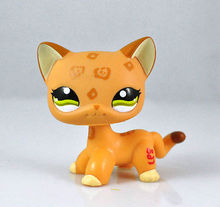 Pet Short Hair Cat Animal For child girl boy figure loose cute LP828(China)
