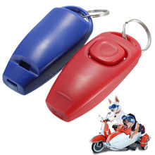 Dog Clicker & Whistle- Training, Obedience, Pet Trainer Click Puppy With Guide(China)