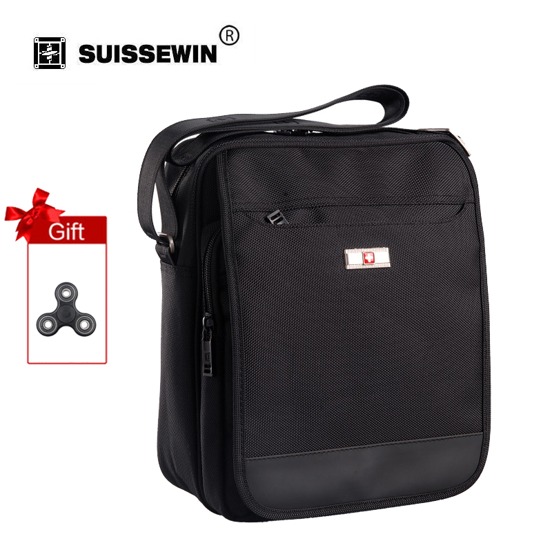 Swisswin business men's small messenger bags brand satchels travel crossbody bags small shoulder Bag SW9006
