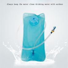 2L Water Bladder Bag Backpack Hydration System Pack Camping Hiking Water Bag