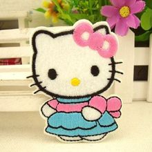 Hiron on patches hello kitty patch applique children accessories scrapbooking buttons sewing accessories clothing set patches