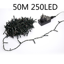 Low Voltage DC24V Waterproof Fairy String Lamp 50M 250Led for Christmas Tree  Restaurants  Holiday Lighting 4 Color FreeShipping