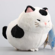 "JP Anime Amuse Cat Hige Manjyu Soft Dolls Cute Bread Blessing Cat Stuffed Animals 7"" 18 CM(China)"