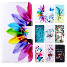 For Nokia 6 5 3 Case Colorful Magnetic Flip Wallet PU Leather Painted Cases For Nokia 3310 2017 Cover with Stand Card slot