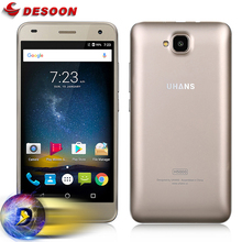 In Stock! Case+film) UHANS H5000 Mobile phone 4G LTE mobile phone 4500mAh HD MTK6737 Quad Core Android 6.0 3GB RAM 32GB ROM 13MP