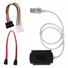 For 2.5/3.5 Hard Drive SATA/PATA/IDE Drive to USB 2.0 Adapter Converter Cable C26