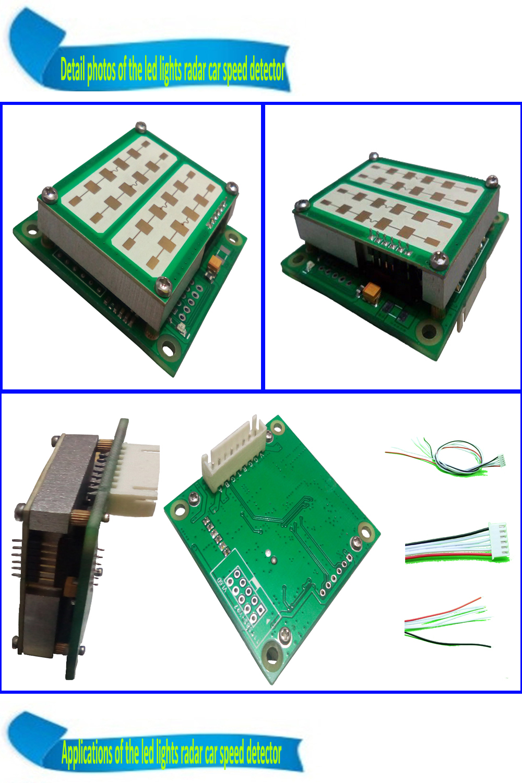 led display radar sensor
