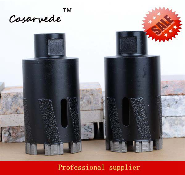 Hole saw 2 inch D50mm diamond core drill bit for dry drilling granite marble stone<br>