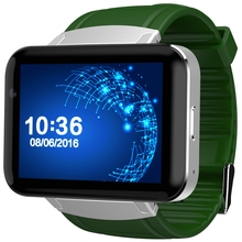 "DM98 2.2"" Android Smartwatch Phone Bluetooth Wristwatch MTK6572 2G 3G WiFi 512MB 4GB 1.3MP Cam 900mAh GPS Smart Watch"