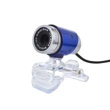 USB 50MP HD Webcam Web Cam Camera 360 Degree for Computer Laptop PC Tablet New High Quality Blue