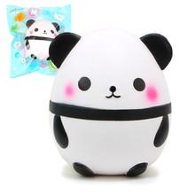 15 см Kawaii Джамбо панда мягкими Мягкая кукла Коллекционные вещи мультфильм игрушки душистый супер замедлить рост оригинальной упаковке(China)