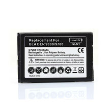 2016 New Boblie Cell Phone Replacement Rechargeable1800mah Battery For Blackberry Bold 9000 9700 9780(China)
