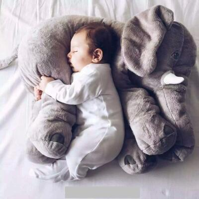 1pcs 60cm INS Elephant Soft Pillows Baby Sleeping Pillow Stuffed Elephant Comforter Plush Animal Cushion Best Gift For Kids<br><br>Aliexpress