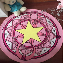 Crystal Velvet Fabric Star Moon Triangle Geometry Pattern Purple/Blue/Red/Black/Pink Round Rug Living Room Bedroom Rug(China)