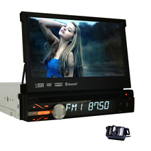 Head Unit Touchscreen GPS Stereo Navigation Music Electronics FM Car DVD Player Auto Radio USB Receiver 1din Video CD