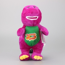 NEW Singing Barney and Friends Barney I LOVE YOU Song Plush Toy Dolls Kids Birthday Gift