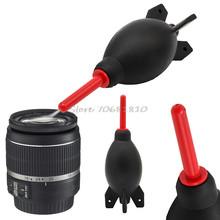 For DSLR Camera Lens Rubber Air Dust Blower Pump Cleaner Rocket Duster Cleaning Tool #R179T#Drop Shipping