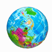 1Pcs 6.3cm World Map Foam Earth Globe ball Hand Wrist Exercise Stress ball  Relief Squeeze Soft Foam Ball Toy