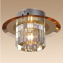 New Modern Crystal 3W LED Ceiling Light Fixture  led indoor light  led ceiling white light 0124