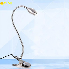 GLW Led Para Quarto Clip on Desk Lamp 3W 9W Table Lamp New Flexible LED reading lighting desk Light 50cm Tube style High Power