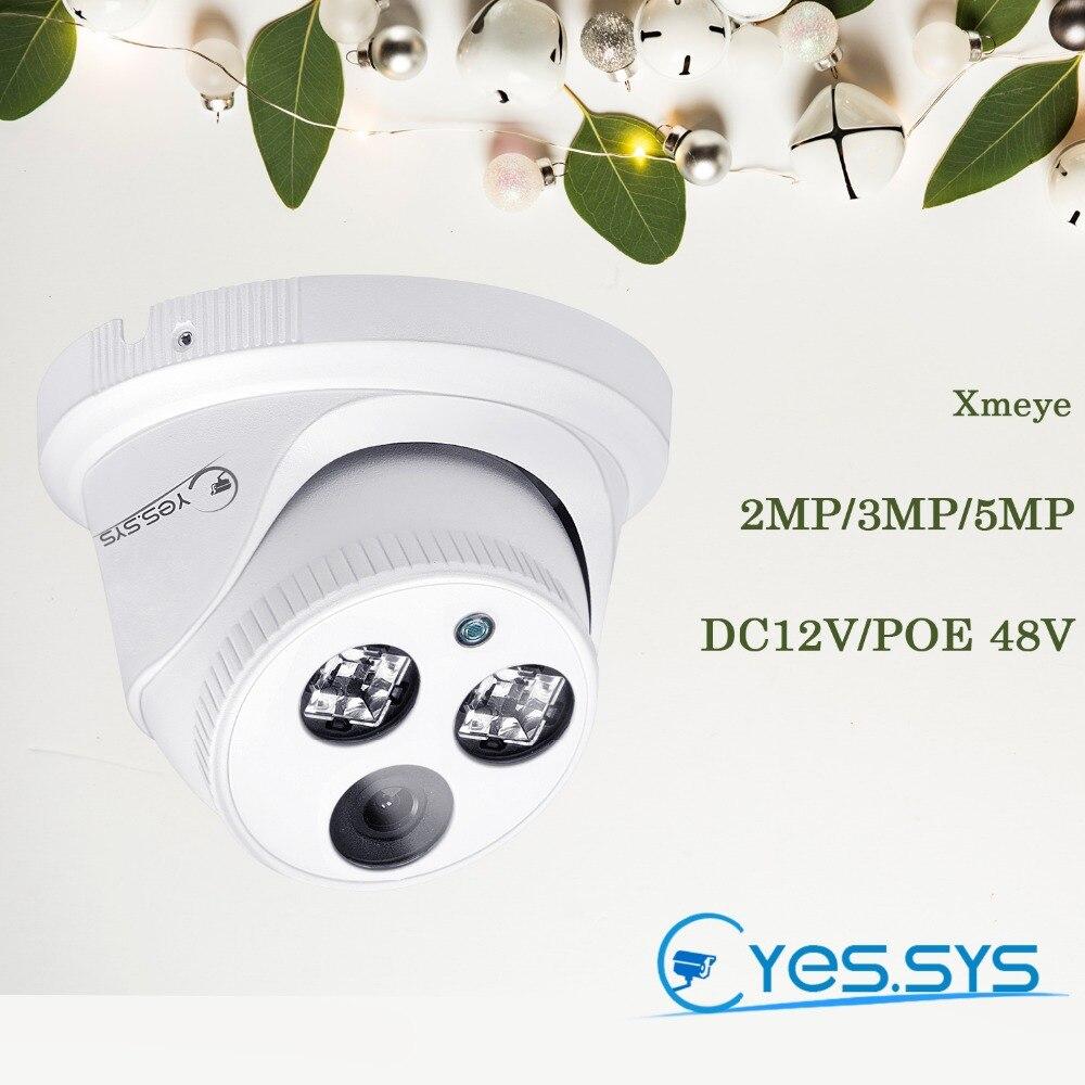 Eyes.sys H.265 1080P 2MP//3MP//5MP CCTV HD POE ARRAY IR IP Camera ONVIF RTSP NVR