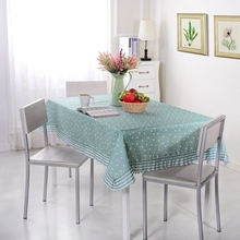 New Arrival 1 Piece Floral Pastoral Style Tablecloth Dinner Table Cloth Dining End Table Cover extra thick(China)