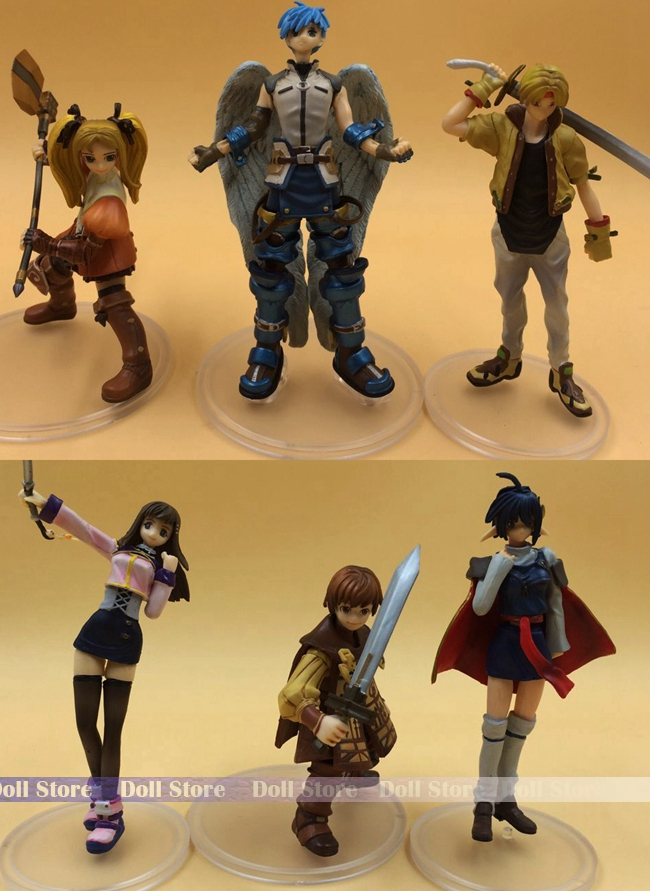 9-12CM Japanese anime figure radiata stories star ocean action figure set collectible model toys for boys<br><br>Aliexpress