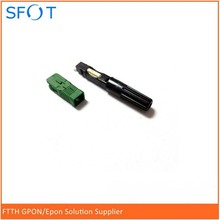 100pcs 3M SC/APC  Fiber Optic Fast Connector, Pre-embedded, Telecommunication Standard, Fiber Connector