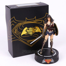 Play Arts KAI Batman v Superman The Dawn of Justice Wonder Woman PVC Action Figures Collectible Model Toys 22cm(China)